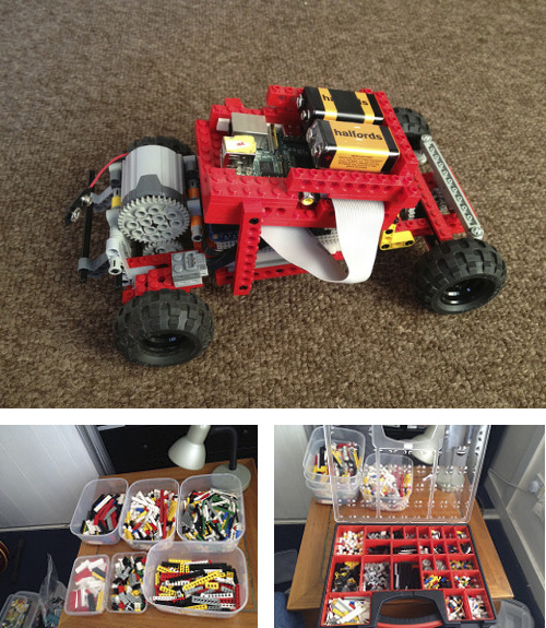 HOWTO: Build an RC Car using Lego and a Raspberry Pi · Tom Rees