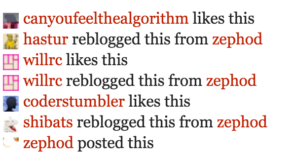 (defunct) Tumblr Social Links
